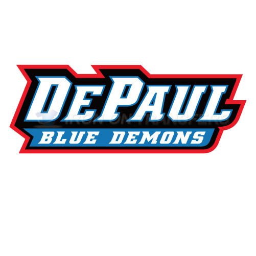 DePaul Blue Demons Logo T-shirts Iron On Transfers N4266