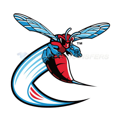 Delaware State Hornets Logo T-shirts Iron On Transfers N4244