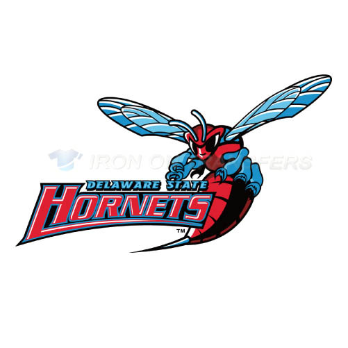 Delaware State Hornets Logo T-shirts Iron On Transfers N4250