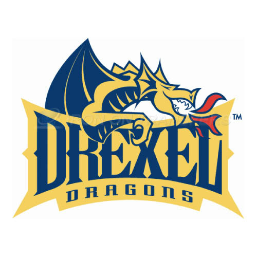 Drexel Dragons Logo T-shirts Iron On Transfers N4278