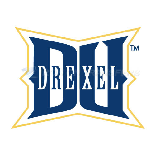 Drexel Dragons Logo T-shirts Iron On Transfers N4279