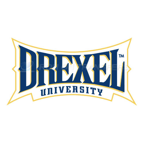 Drexel Dragons Logo T-shirts Iron On Transfers N4280