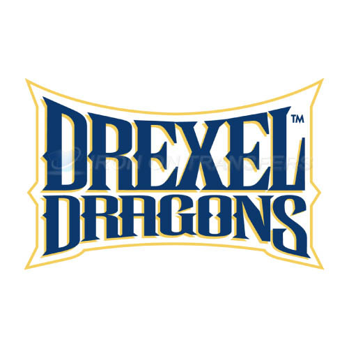 Drexel Dragons Logo T-shirts Iron On Transfers N4282