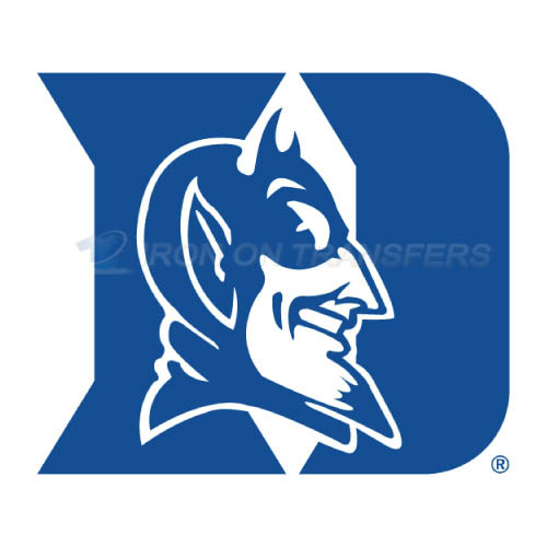 Duke Blue Devils Logo T-shirts Iron On Transfers N4286