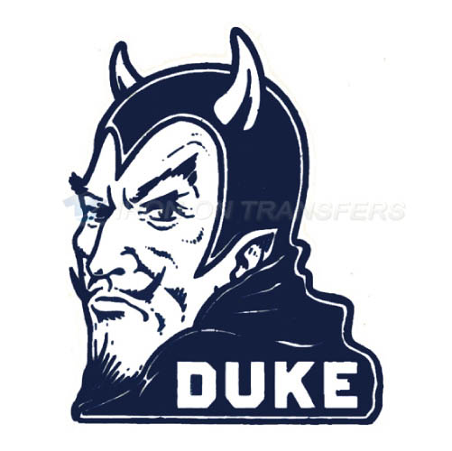 Duke Blue Devils Logo T-shirts Iron On Transfers N4287