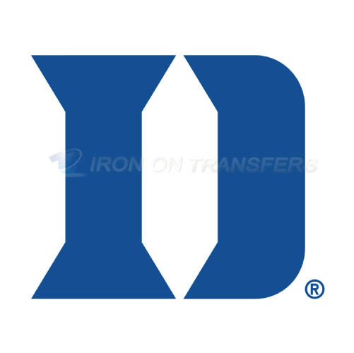 Duke Blue Devils Logo T-shirts Iron On Transfers N4288