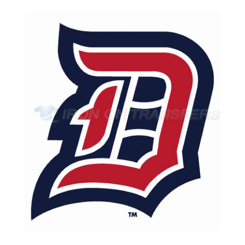 Duquesne Dukes Logo T-shirts Iron On Transfers N4293