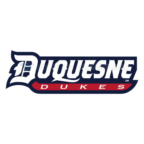 Duquesne Dukes Logo T-shirts Iron On Transfers N4294
