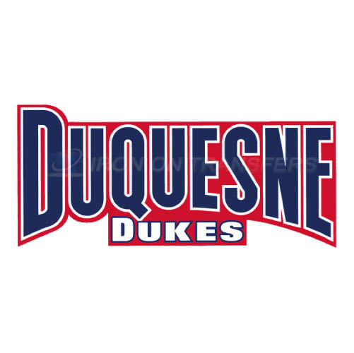 Duquesne Dukes Logo T-shirts Iron On Transfers N4295