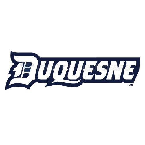 Duquesne Dukes Logo T-shirts Iron On Transfers N4297