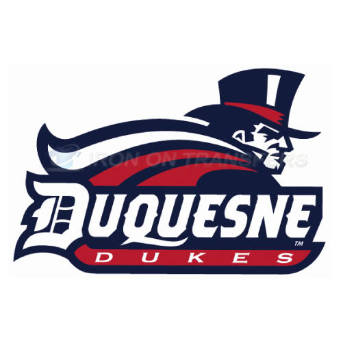 Duquesne Dukes Logo T-shirts Iron On Transfers N4299