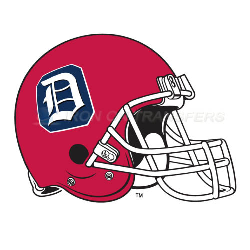 Duquesne Dukes Logo T-shirts Iron On Transfers N4300