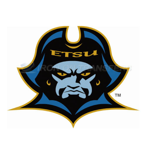 ETSU Buccaneers Logo T-shirts Iron On Transfers N4339
