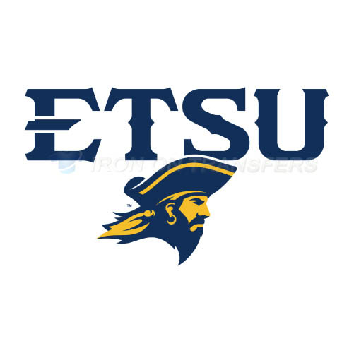ETSU Buccaneers Logo T-shirts Iron On Transfers N4341