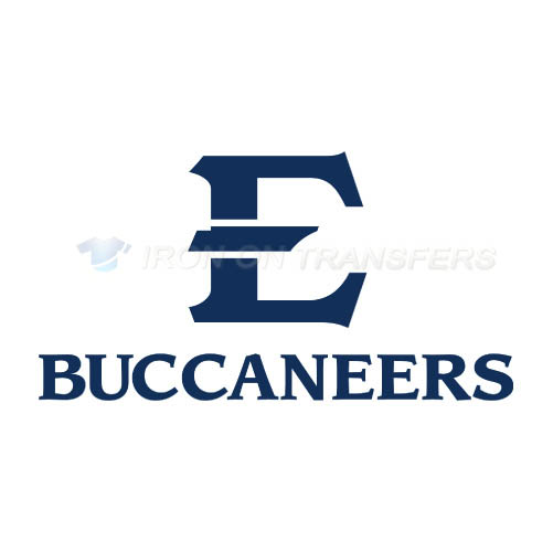ETSU Buccaneers Logo T-shirts Iron On Transfers N4342
