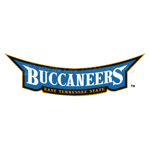 ETSU Buccaneers Logo T-shirts Iron On Transfers N4343