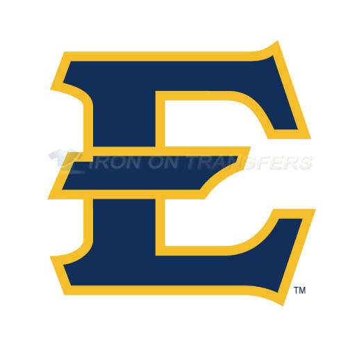 ETSU Buccaneers Logo T-shirts Iron On Transfers N4345