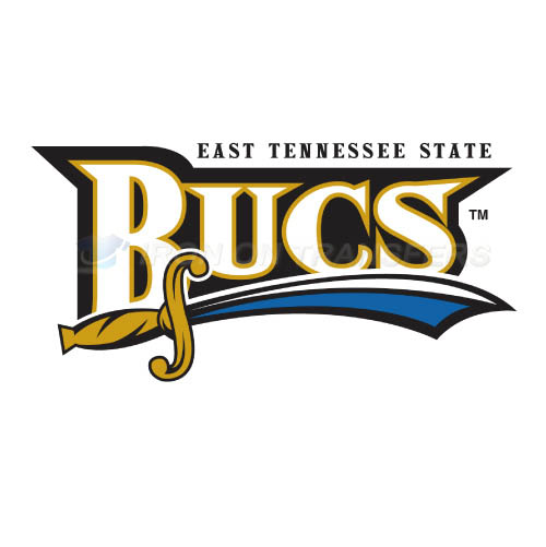 ETSU Buccaneers Logo T-shirts Iron On Transfers N4352