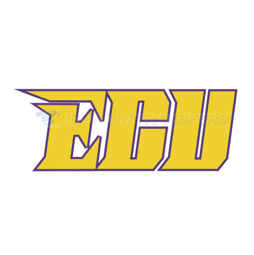 East Carolina Pirates Logo T-shirts Iron On Transfers N4306