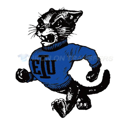 Eastern Illinois Panthers Logo T-shirts Iron On Transfers N4317