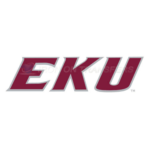 Eastern Kentucky Colonels Logo T-shirts Iron On Transfers N4319
