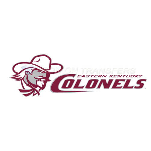 Eastern Kentucky Colonels Logo T-shirts Iron On Transfers N4320