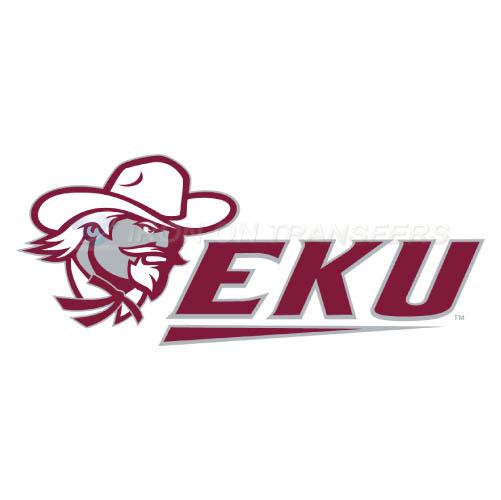 Eastern Kentucky Colonels Logo T-shirts Iron On Transfers N4321