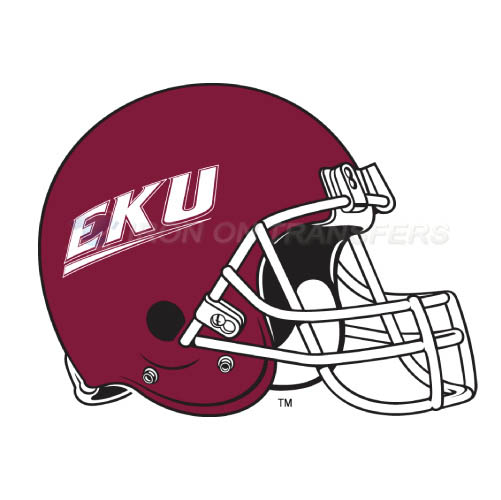 Eastern Kentucky Colonels Logo T-shirts Iron On Transfers N4322