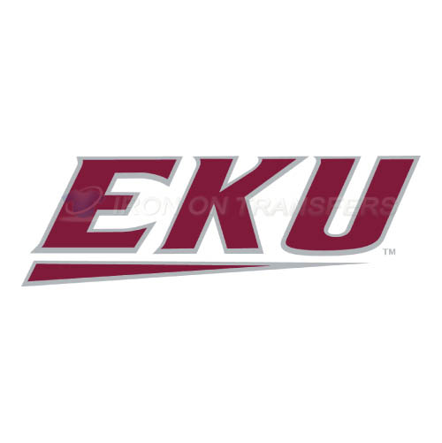 Eastern Kentucky Colonels Logo T-shirts Iron On Transfers N4323