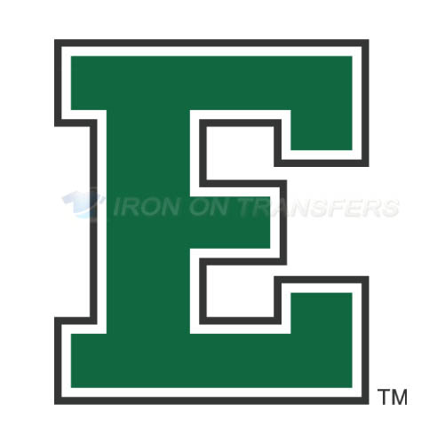 Eastern Michigan Eagles Logo T-shirts Iron On Transfers N4328