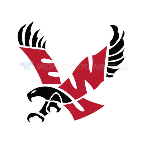 Eastern Washington Eagles Logo T-shirts Iron On Transfers N4331
