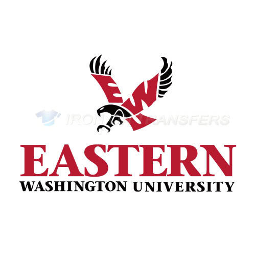 Eastern Washington Eagles Logo T-shirts Iron On Transfers N4332