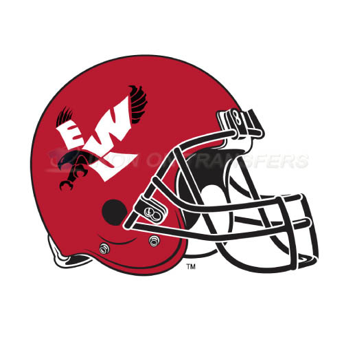 Eastern Washington Eagles Logo T-shirts Iron On Transfers N4333