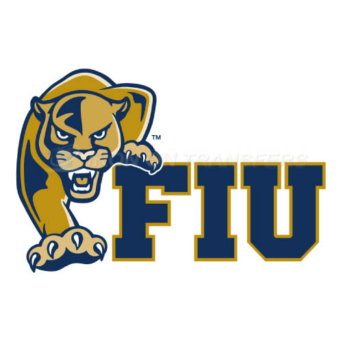 FIU Panthers Logo T-shirts Iron On Transfers N4365