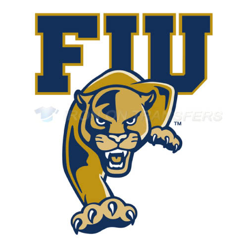 FIU Panthers Logo T-shirts Iron On Transfers N4366