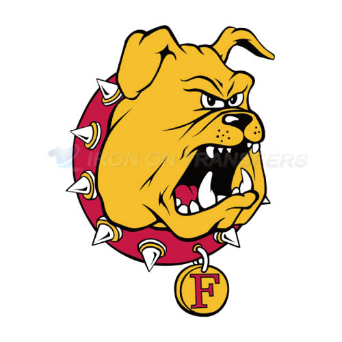 Ferris State Bulldogs Logo T-shirts Iron On Transfers N4360