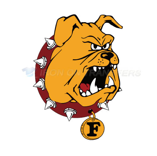 Ferris State Bulldogs Logo T-shirts Iron On Transfers N4361