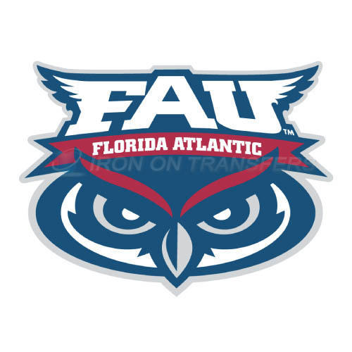 Florida Atlantic Owls Logo T-shirts Iron On Transfers N4372