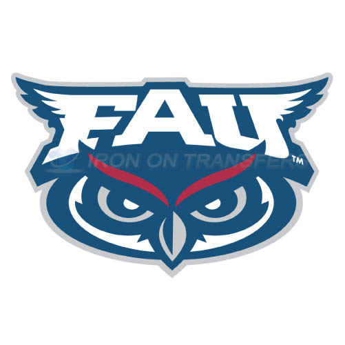 Florida Atlantic Owls Logo T-shirts Iron On Transfers N4373
