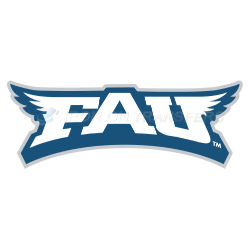 Florida Atlantic Owls Logo T-shirts Iron On Transfers N4375