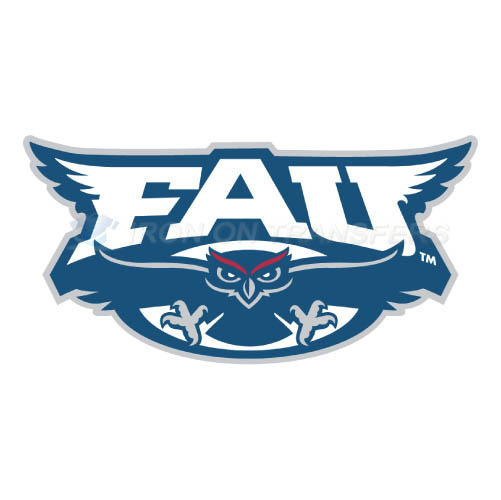 Florida Atlantic Owls Logo T-shirts Iron On Transfers N4376