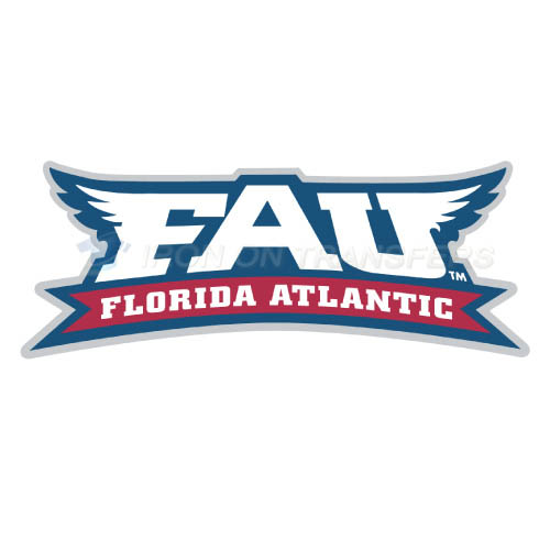 Florida Atlantic Owls Logo T-shirts Iron On Transfers N4377