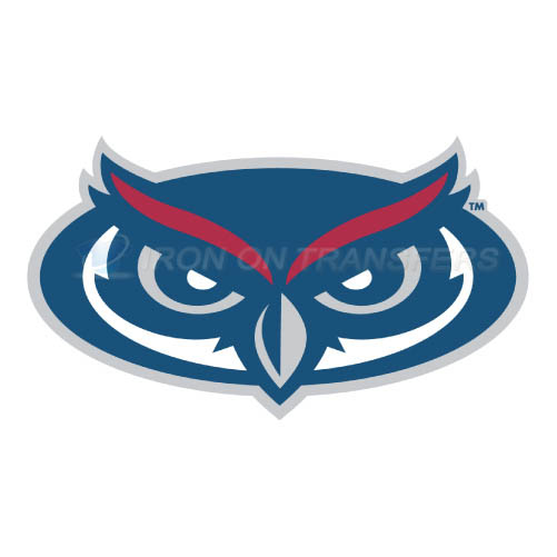 Florida Atlantic Owls Logo T-shirts Iron On Transfers N4379