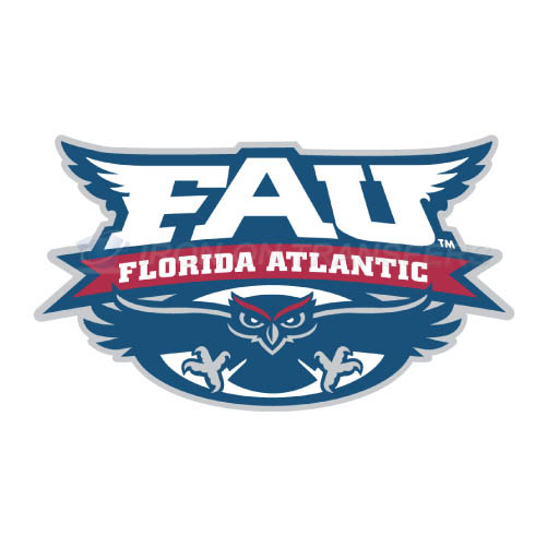 Florida Atlantic Owls Logo T-shirts Iron On Transfers N4380