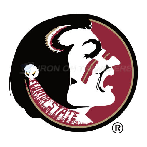 Florida State Seminoles Logo T-shirts Iron On Transfers N4394