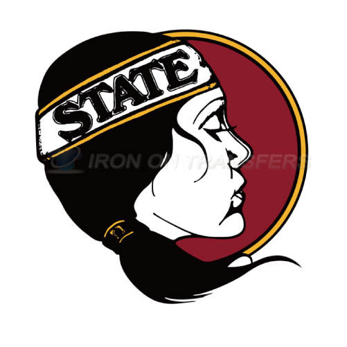 Florida State Seminoles Logo T-shirts Iron On Transfers N4401