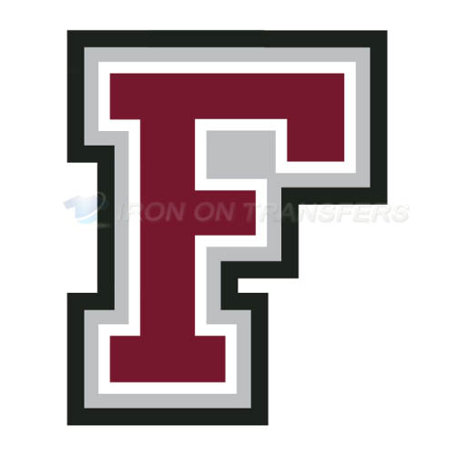 Fordham Rams Logo T-shirts Iron On Transfers N4410
