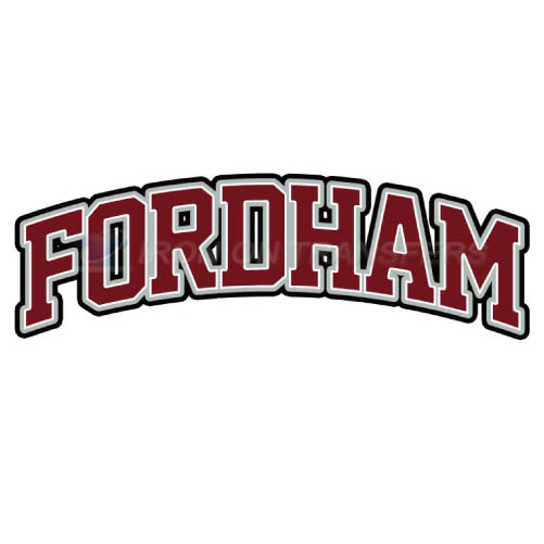 Fordham Rams Logo T-shirts Iron On Transfers N4412