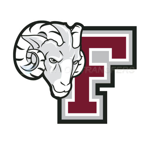 Fordham Rams Logo T-shirts Iron On Transfers N4413