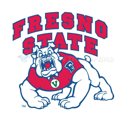 Fresno State Bulldogs Logo T-shirts Iron On Transfers N4423